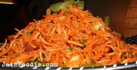 Chinese bhel recipe jain food recipes main menu forumfinder Image collections