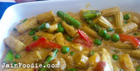 Jain Thai Red Curry