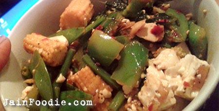 Jain Vegetable Stir Fry