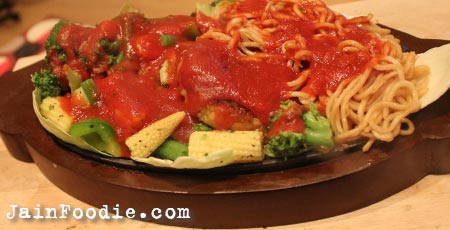 Vegetable sizzler recipe jain food recipes main menu forumfinder Image collections
